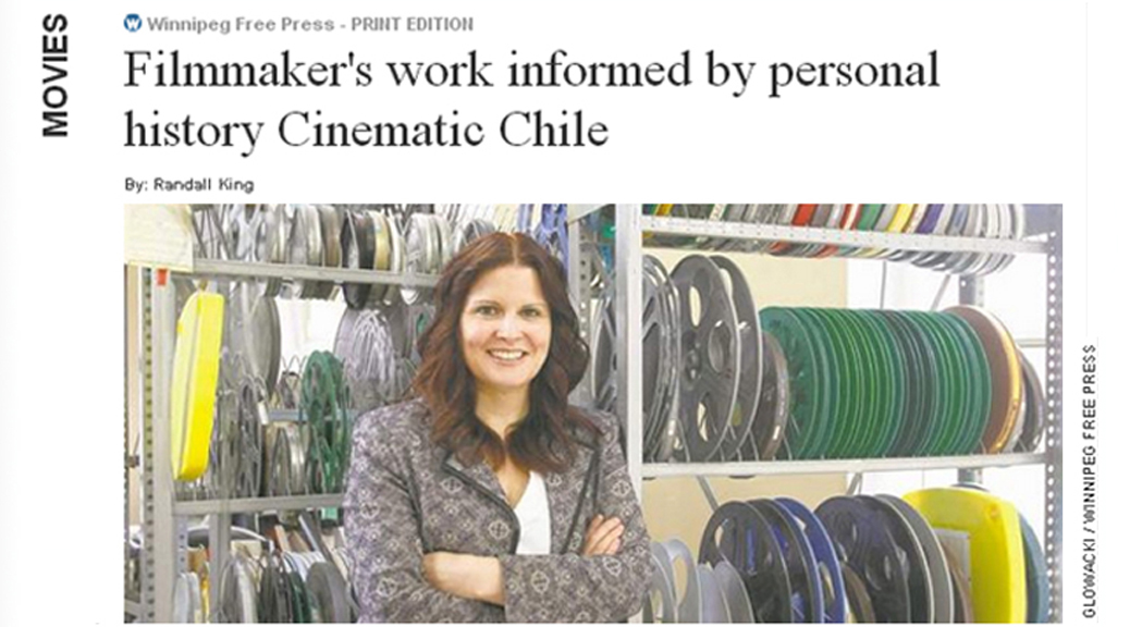 Cecilia Araneda Featured in the Winnipeg Free Press